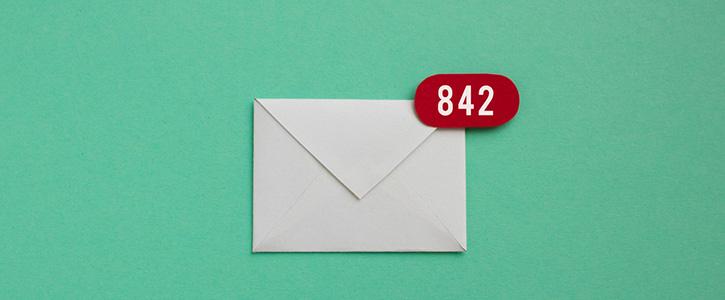 ongelezen mail